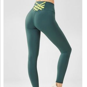 Fabletics 7/8 High-Waisted PowerHold Leggings